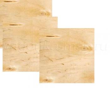 Фанера влагостойкая Ф/К4/4калиброванная 1525x1525x15 мм