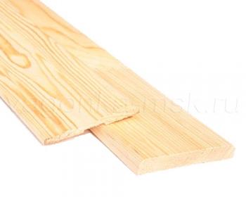 Наличник деревянный хвоя с сучками 90 мм / 2,2 м