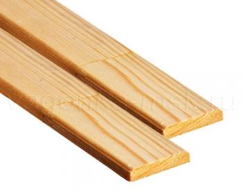 Раскладка деревянная хвоя без сучков 40 мм / 2-3 м