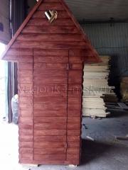 2. Деревянный туалет дачный
