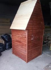 3. Туалет для дачи деревянный