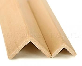 Уголок внешний деревянный хвоя без сучков 35 мм / 2-3 м